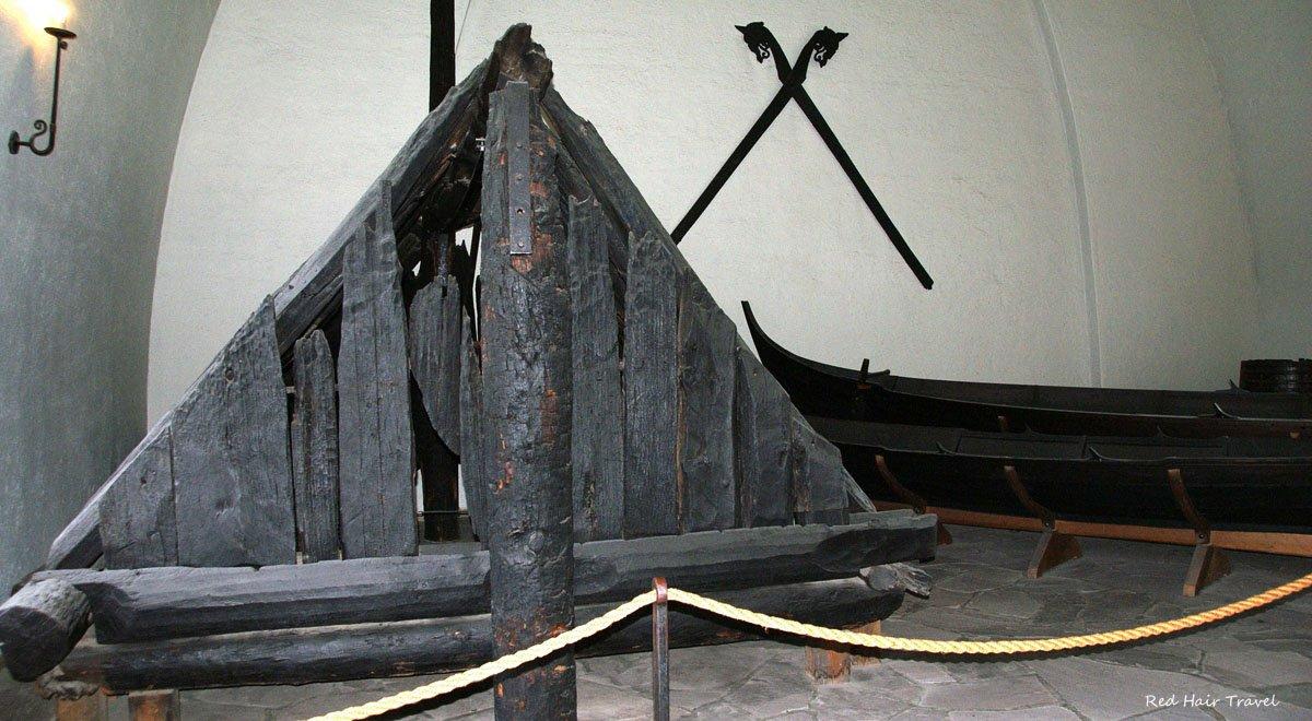 палатка викингов, музей Осло