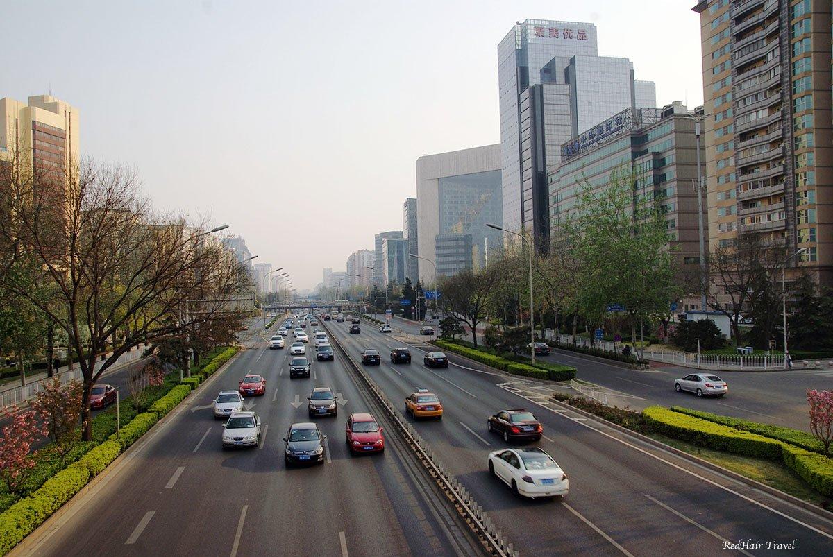 дороги Пекина