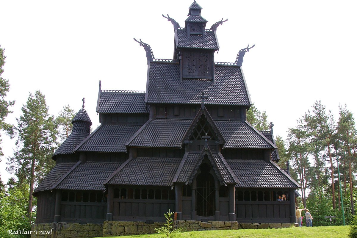 Церковь Ставкирка 1212г.