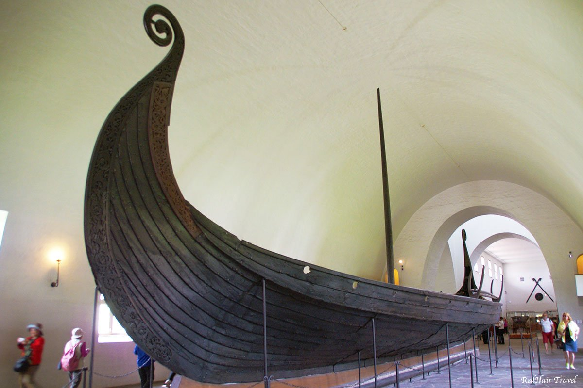драккар Викингов, музей Осло
