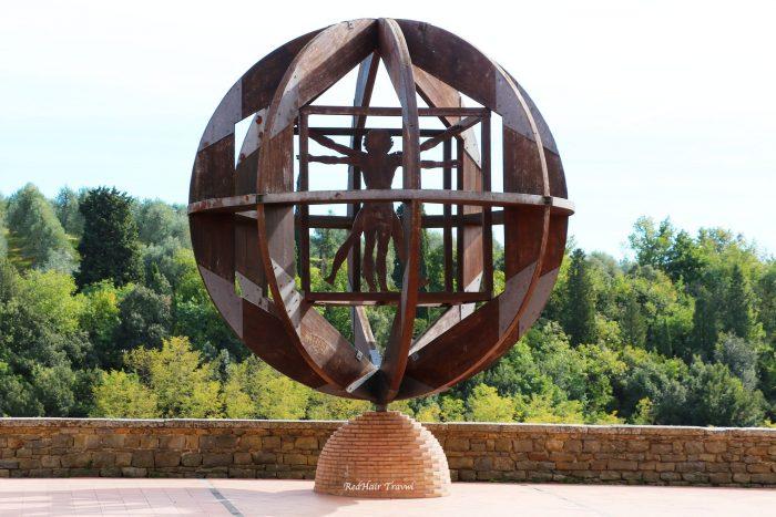 музей Леонардо да Винчи, город Винчи, Италия