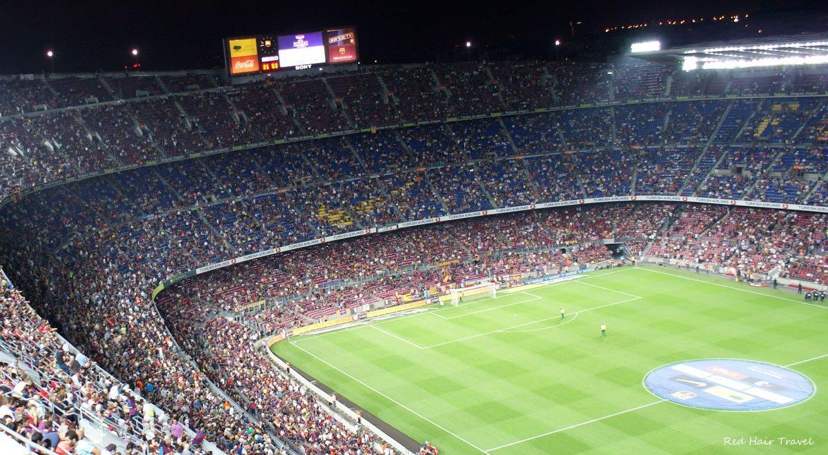 Стадион Камп Ноу, Барселона