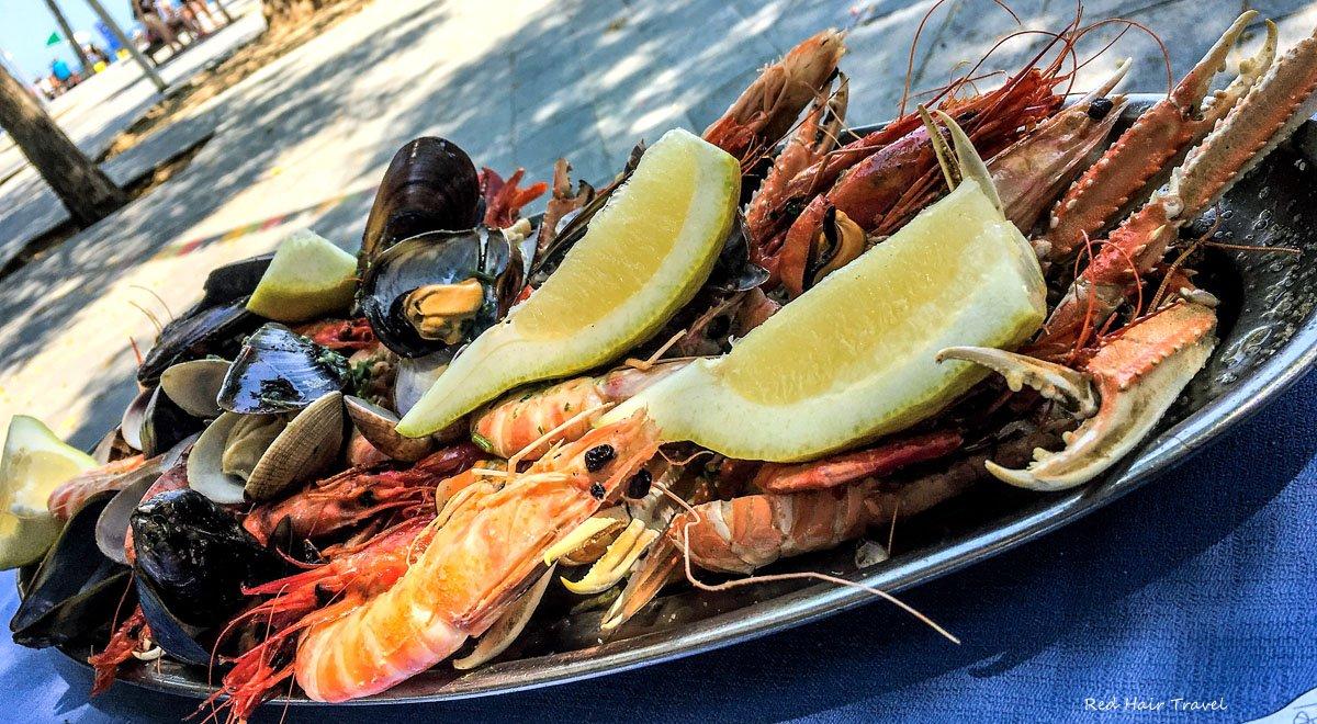 морепродукты Барселона