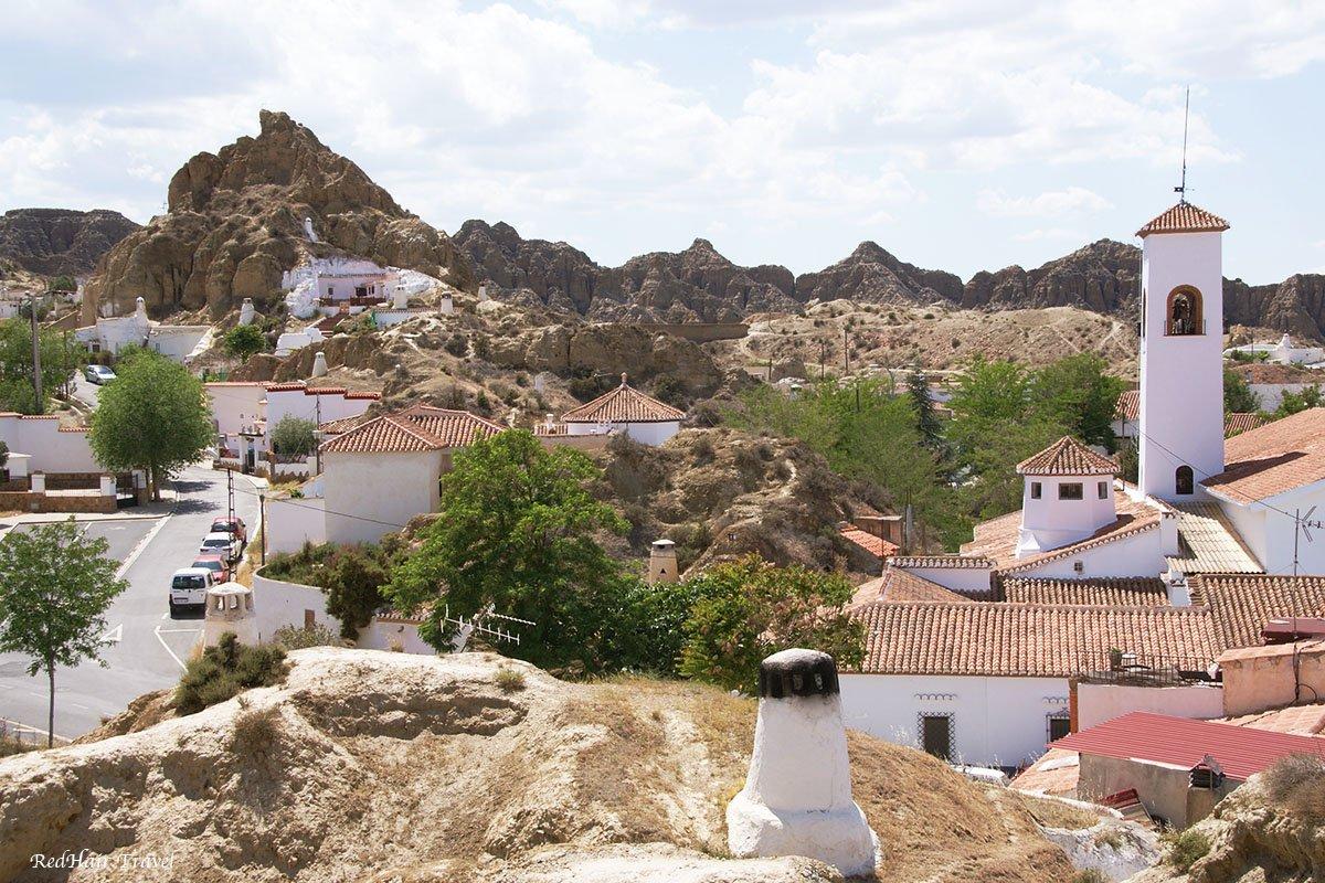 Гуадикс, деревня пещер