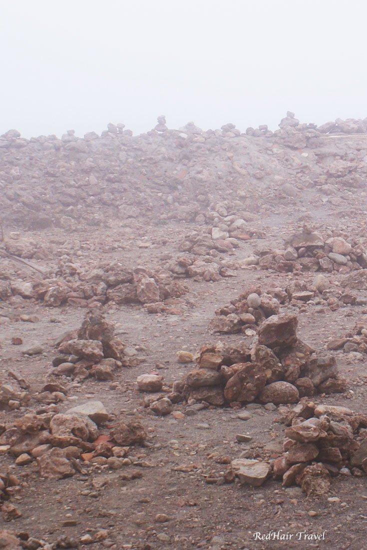 камни паломников на Монсеррат