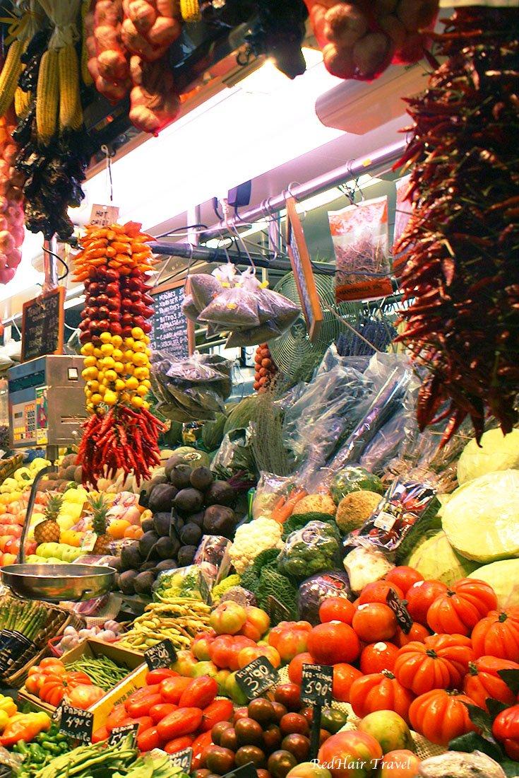овощи на рынке Бокерия