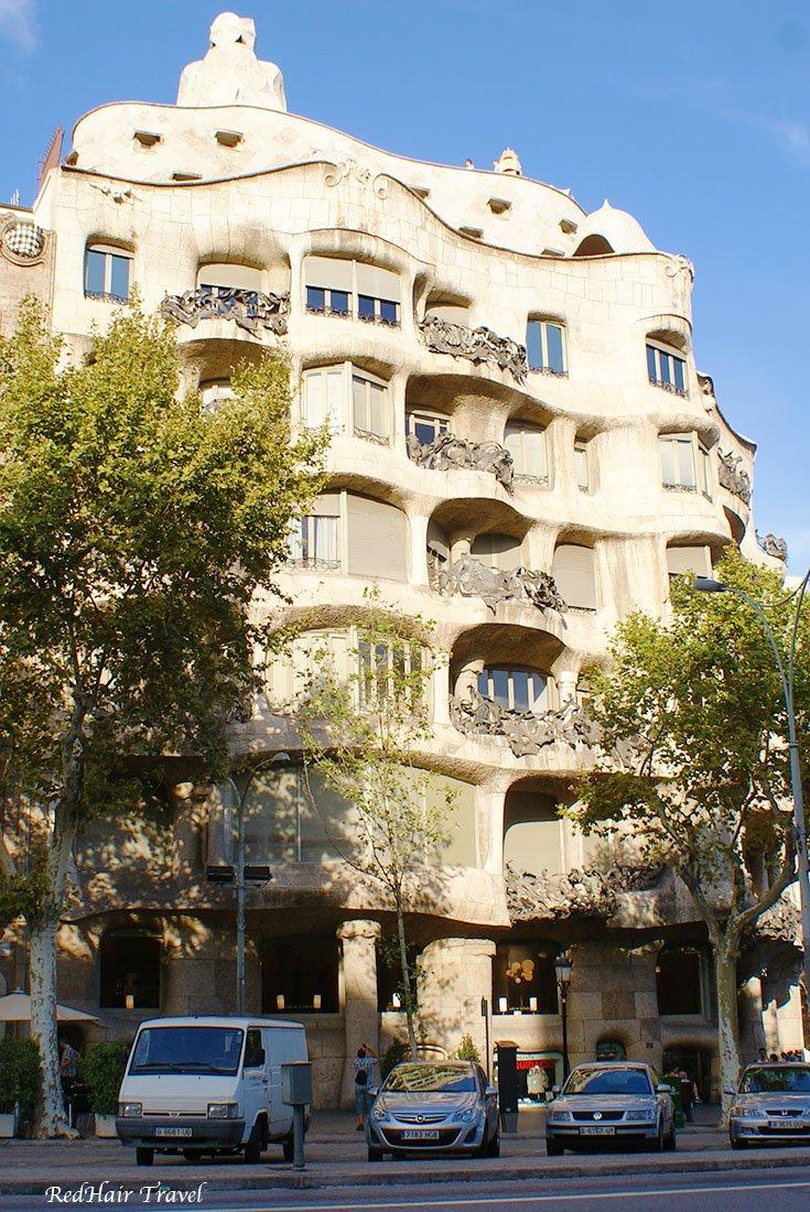 Дом Мила, Педрера, Барселона