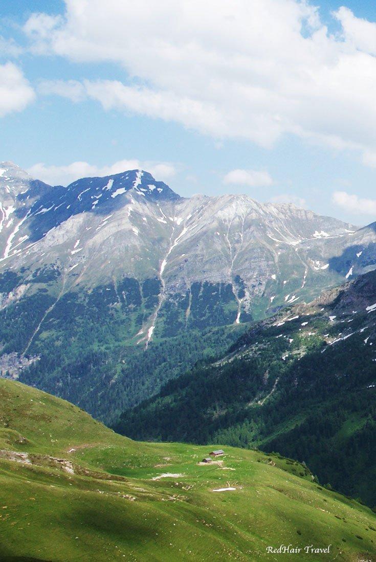 Гросглоккнер (Grossglockner), альпийская дорога, Австрия