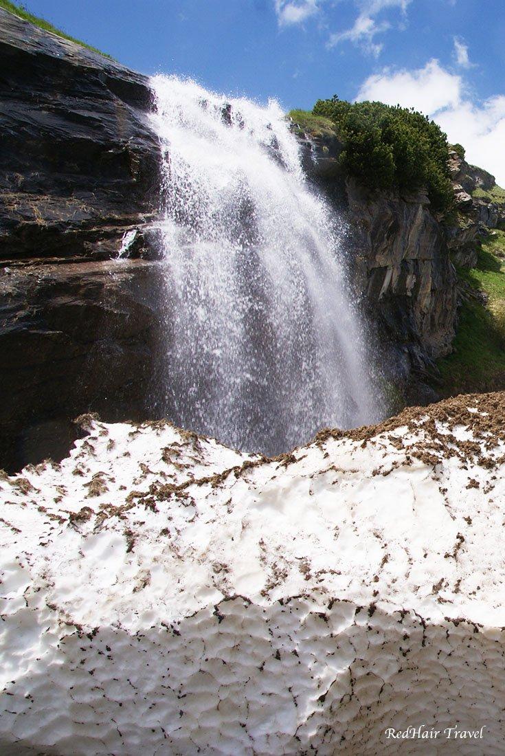 Гроссглокнер, водопад