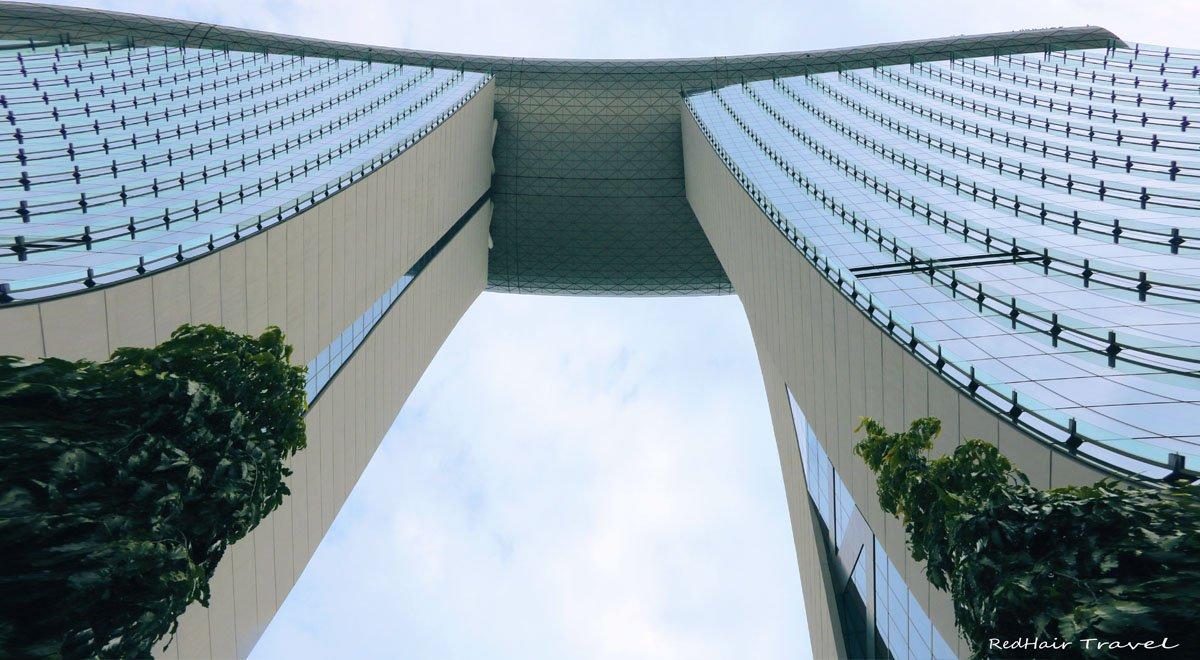 hotel Marina Bay Sands, отель Марина Бэй Сэндс