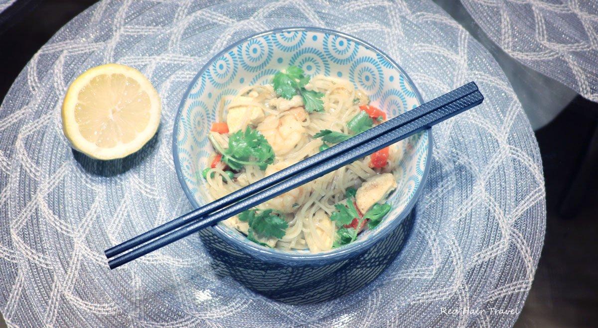 сингапурская лапша, рецепт