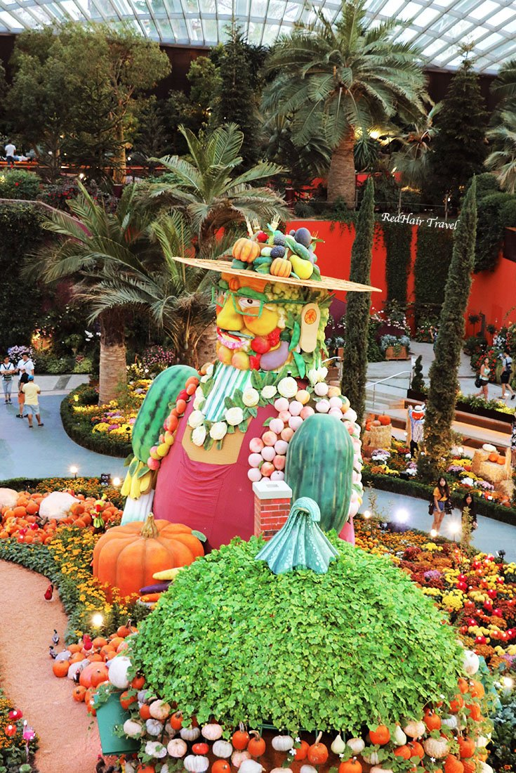 Цветочный Купол Сингапур