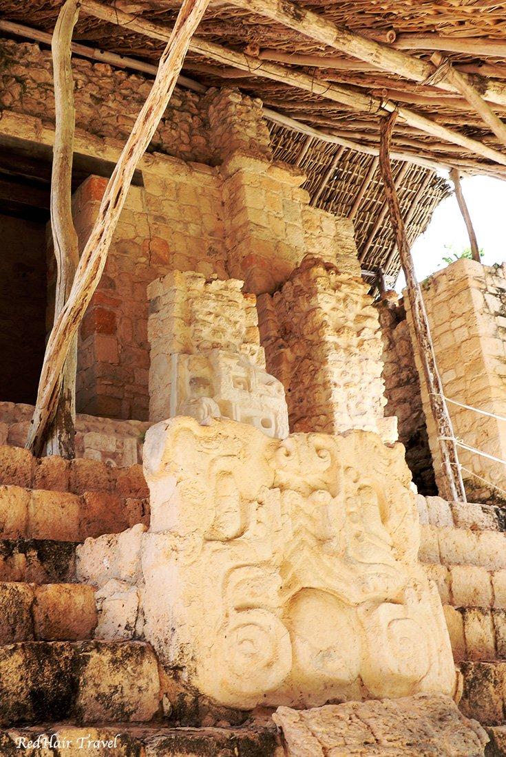 Акрополь Эк Балам, гипсовые таблички