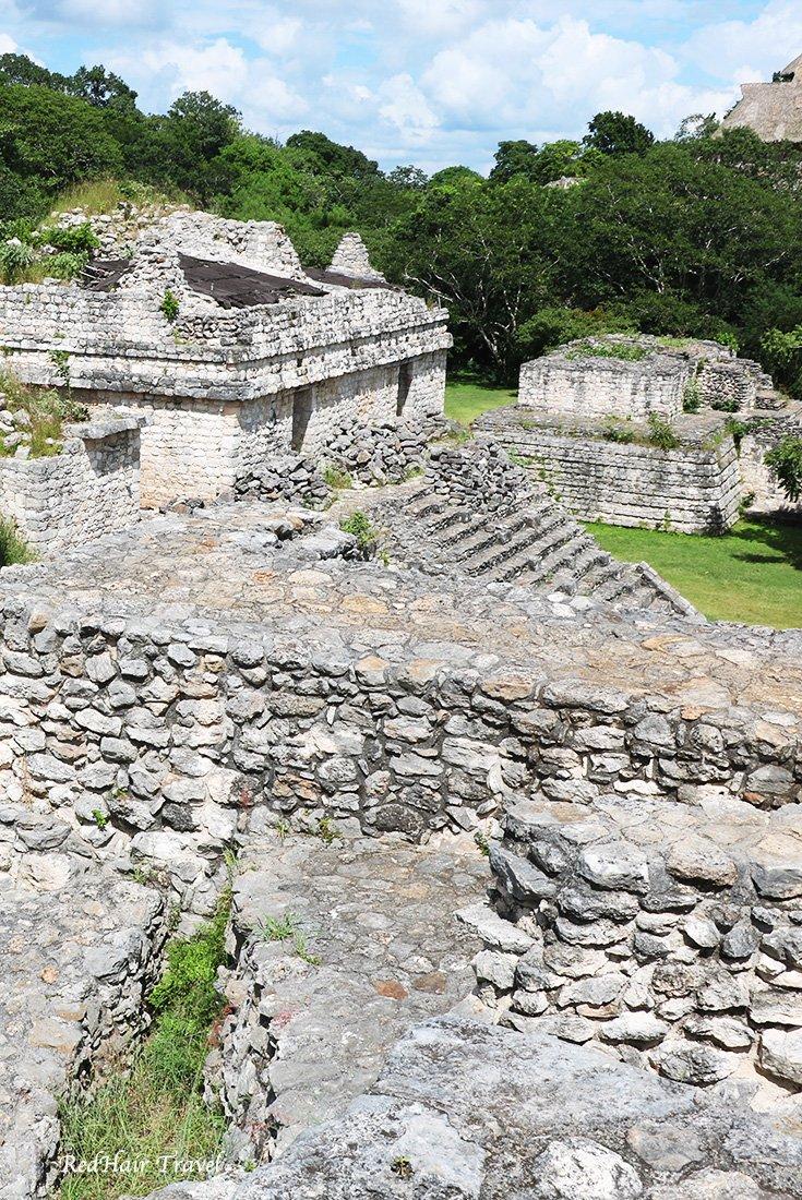 Эк Балам, руины майя