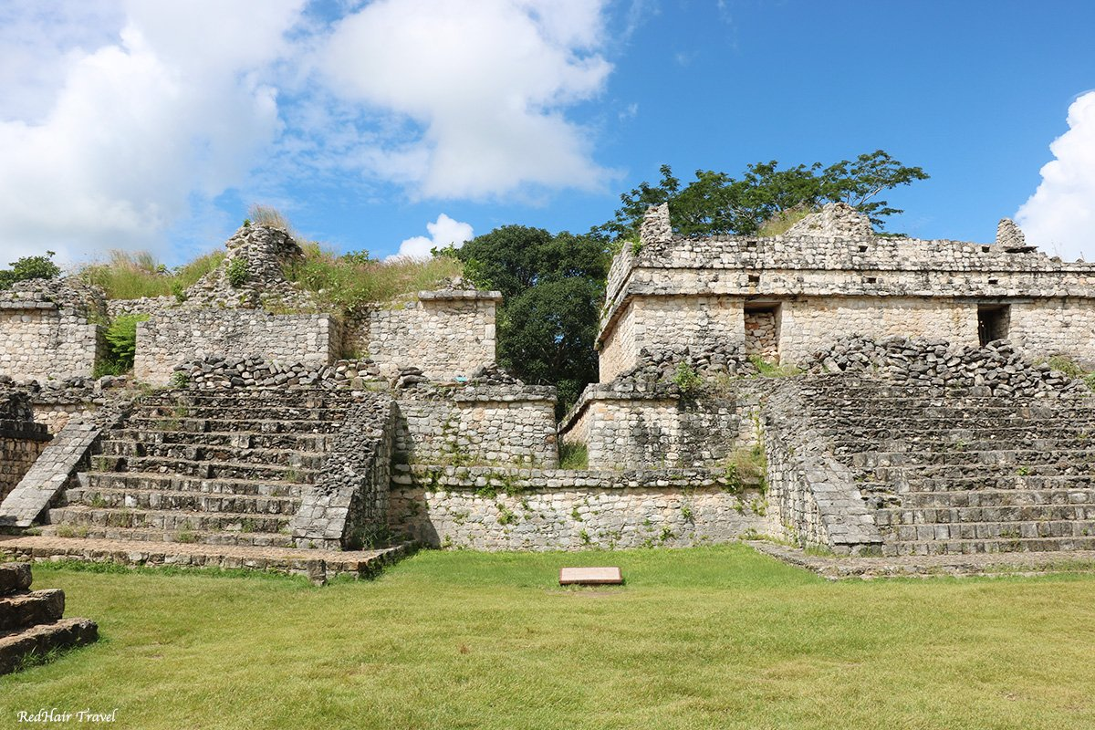 Эк Балам, пирамиды - близнецы