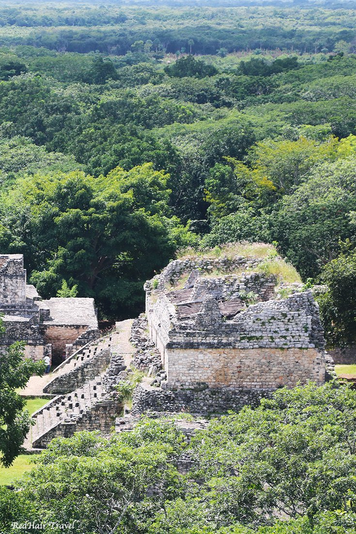 руины Эк Баламб Мексика
