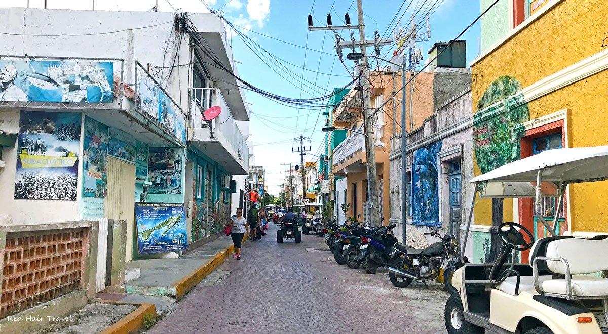 Исла Мухерес, центр города