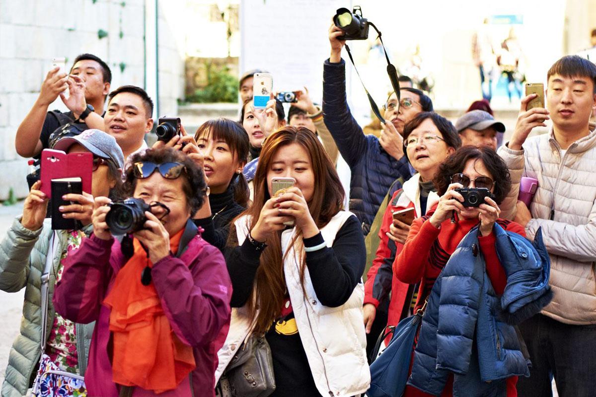 китайские туристы