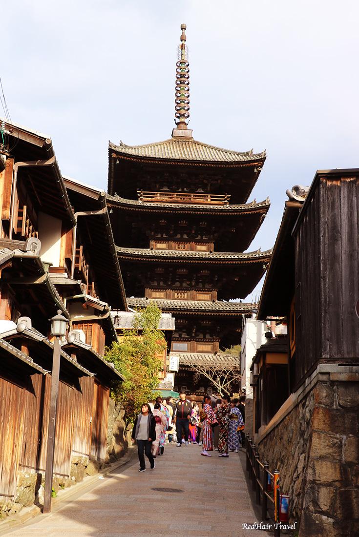 пагода в Киото, Япония, как сэкономить на достопримечательностях