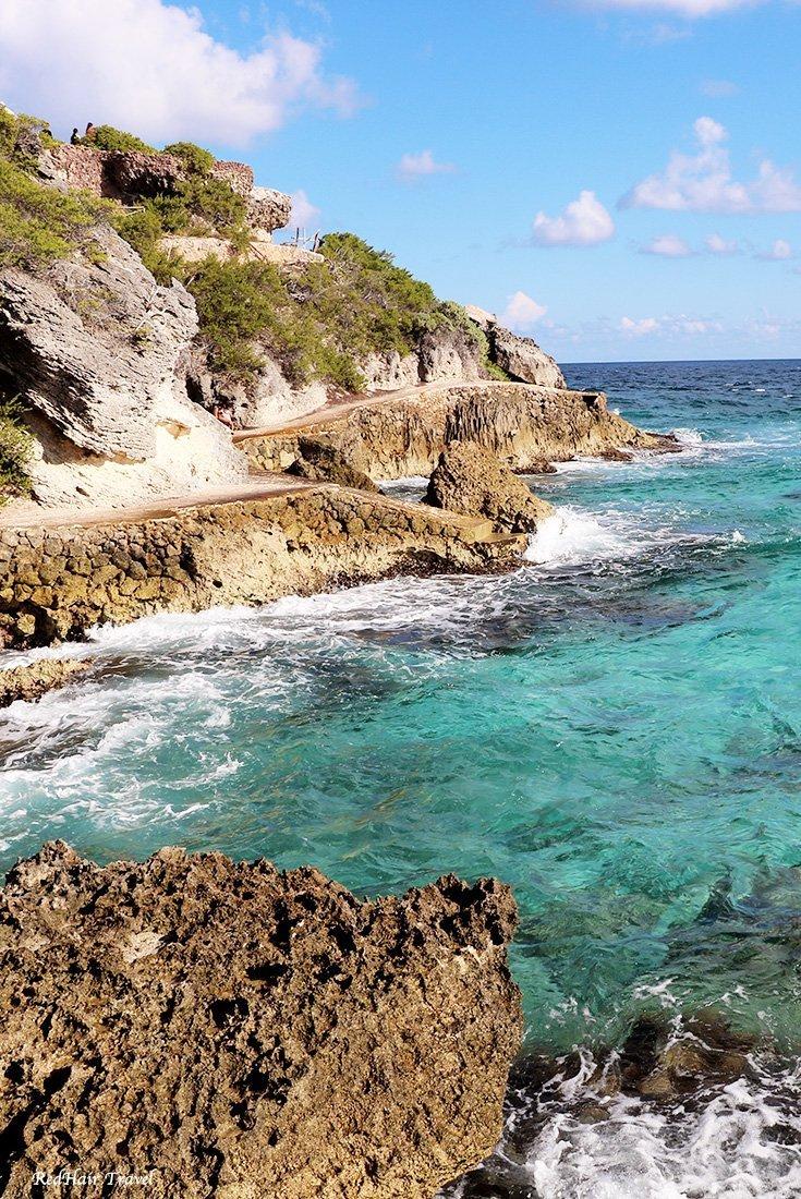 Пунта Сур, дорога у воды, Остров Женщин, Мексика