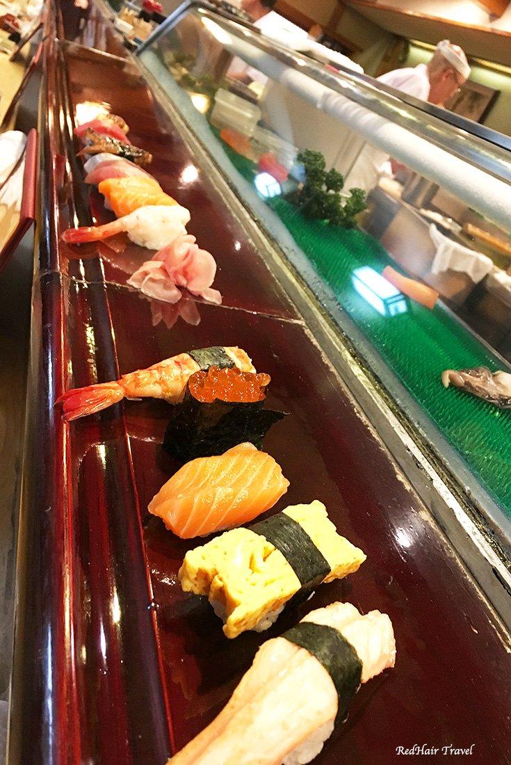 суши, Япония