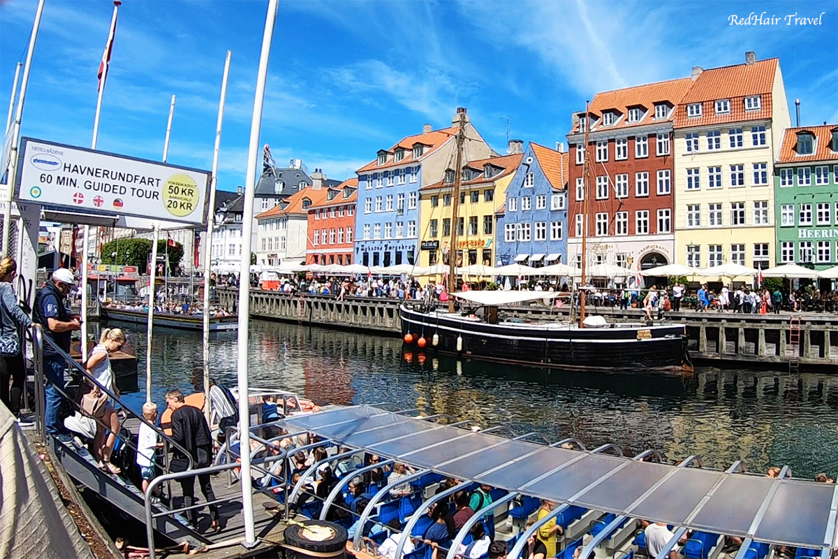 катание на лодке, Копенгаген