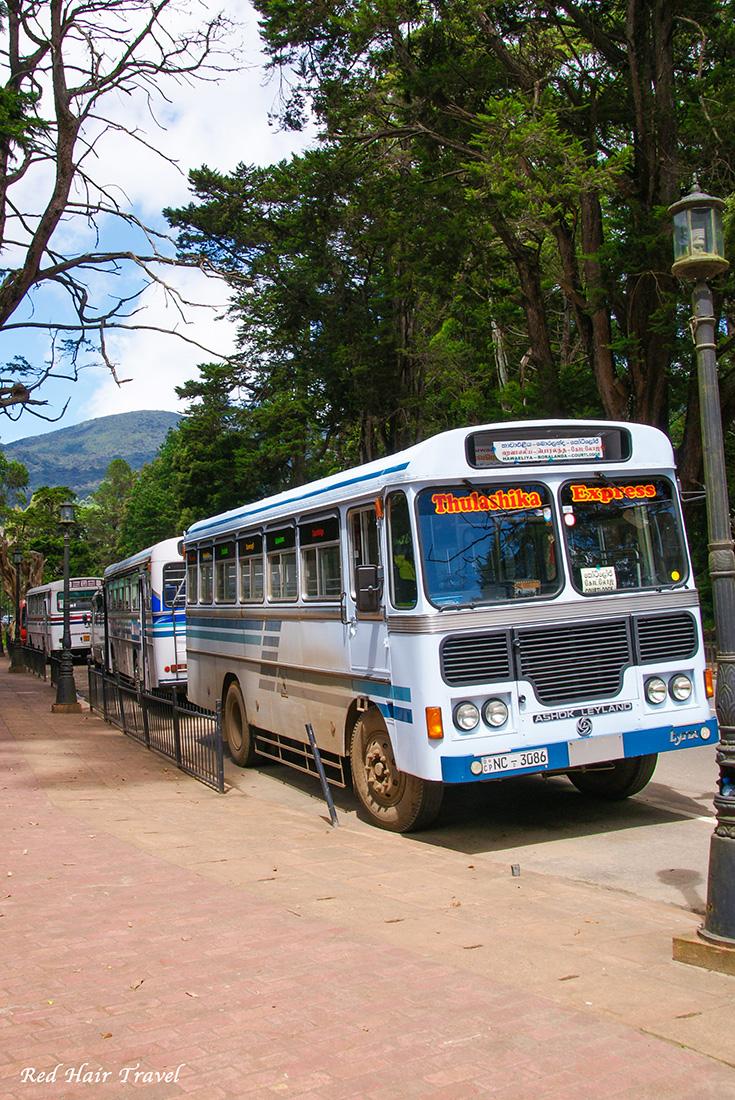 автобус на Шри Ланке