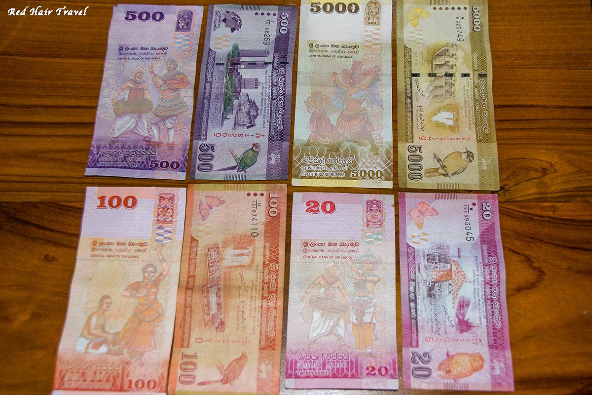ланкийский рупий, как расплачиваться на Шри Ланке