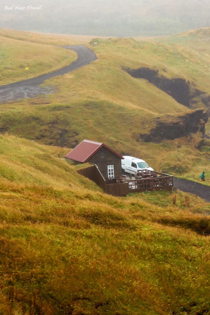 Fjöruhúsið café,еда в Исландии
