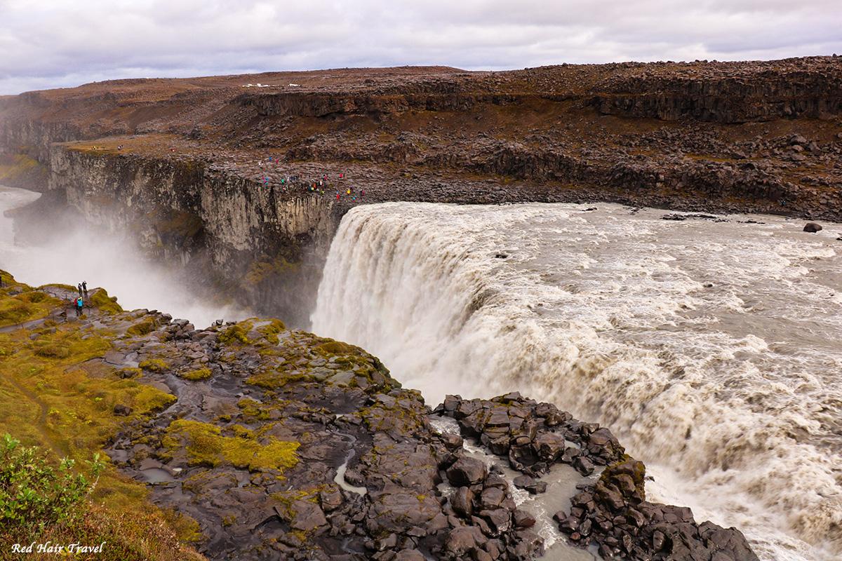 Водопад Деттифосс, Dettifoss, Исландия