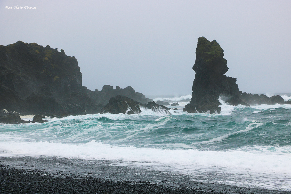 Пляж Дьюпалонссандур (Djúpalónssandur)