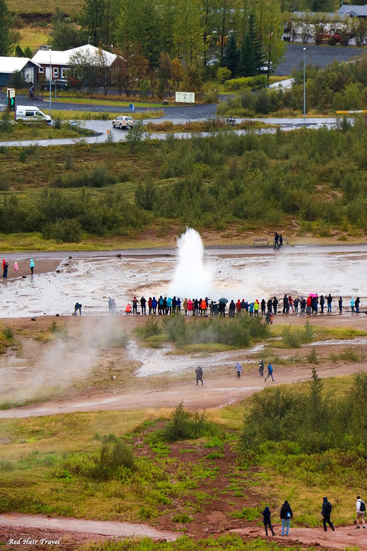 гейзер, Исландия