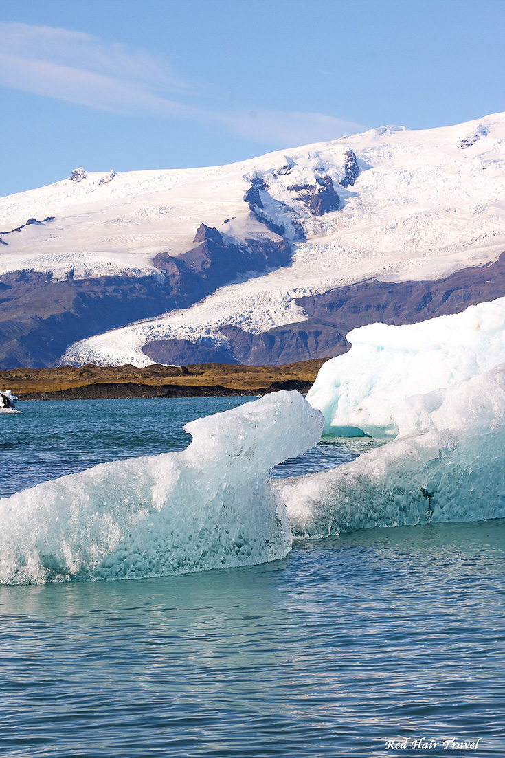 Ледниковое озеро Йокульсарлон (Jökulsárlón), Исландия