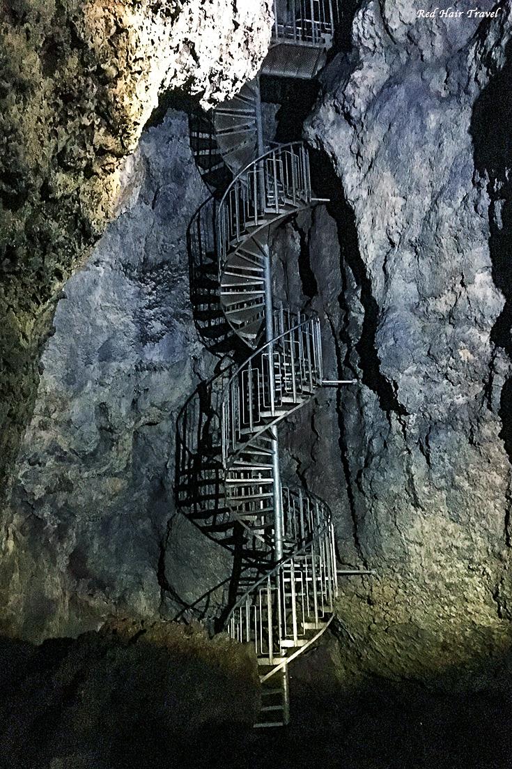 lava cave, лавовый туннель, Исландия