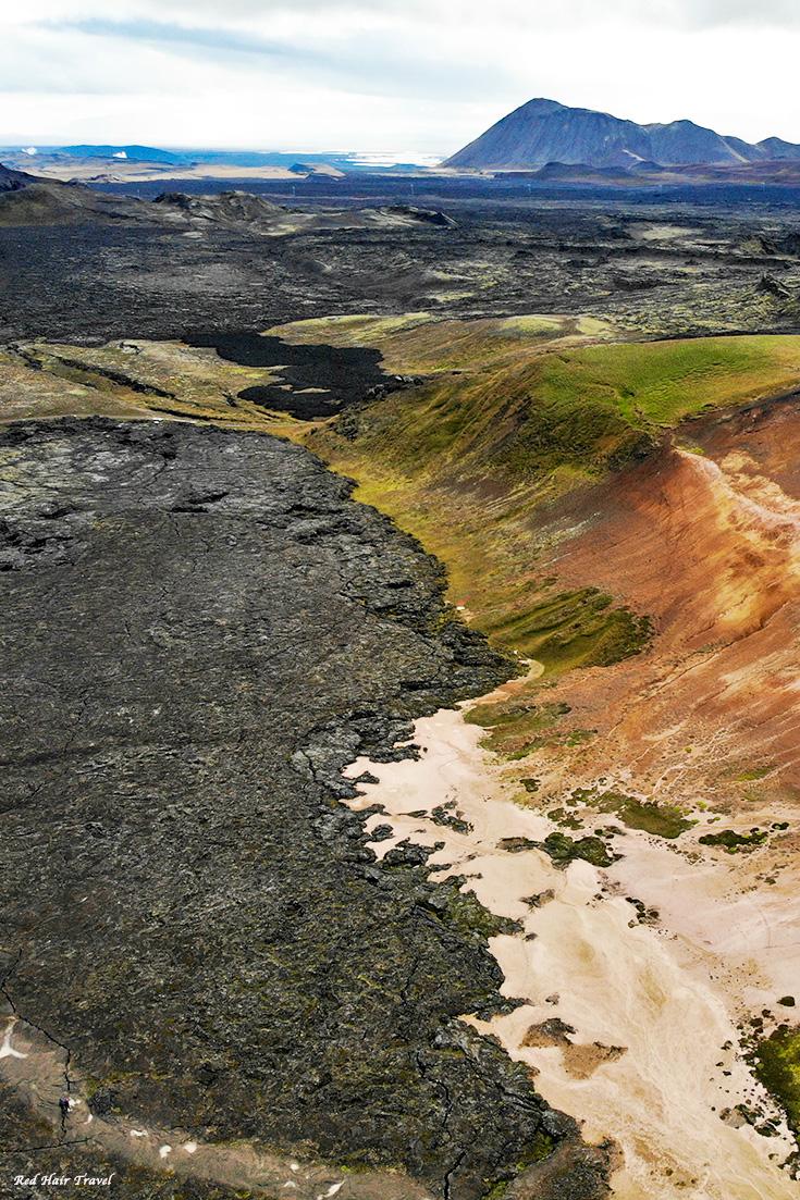 Лавовые поля Крабла, Krafla, Исландия
