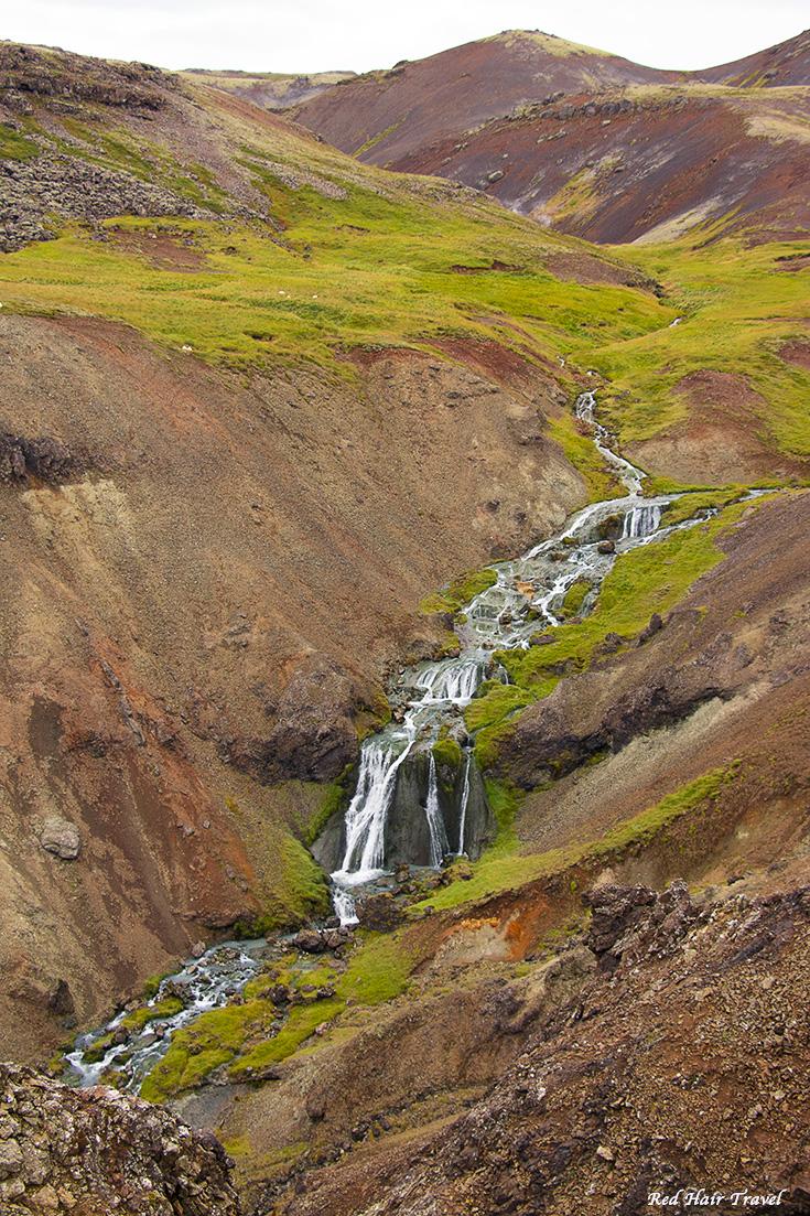 Термальная река Рейкьядалур, Reykjadalur, Исландия