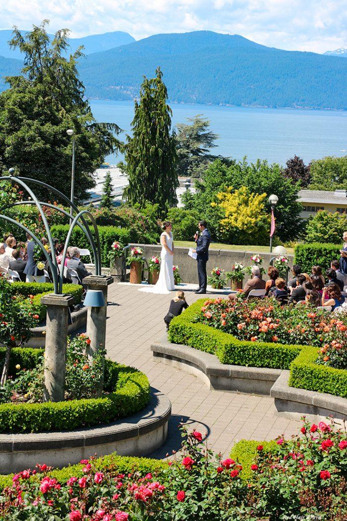 Университет Британской Колумбии, розарий, свадьба