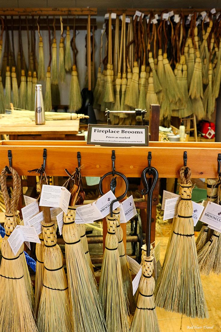 brooms shop, Granville