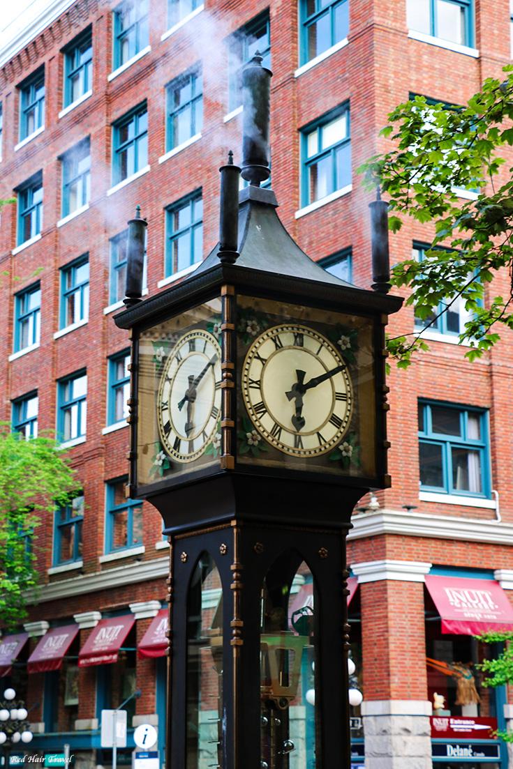 Гастаун, Ванкувер, Паровые часы