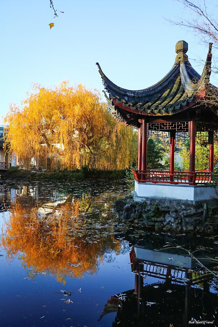 Что посмотреть в Ванкувере? Китайский сад, Ванкувер
