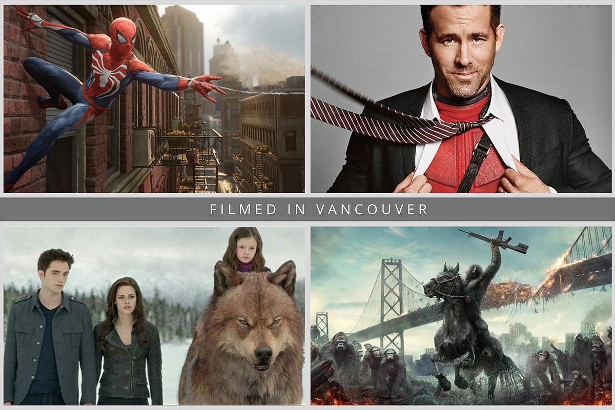 Известные фильмы, которые снимали в Ванкувере