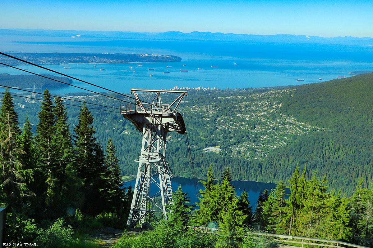 Что посмотреть в Ванкувере? grouse mountain
