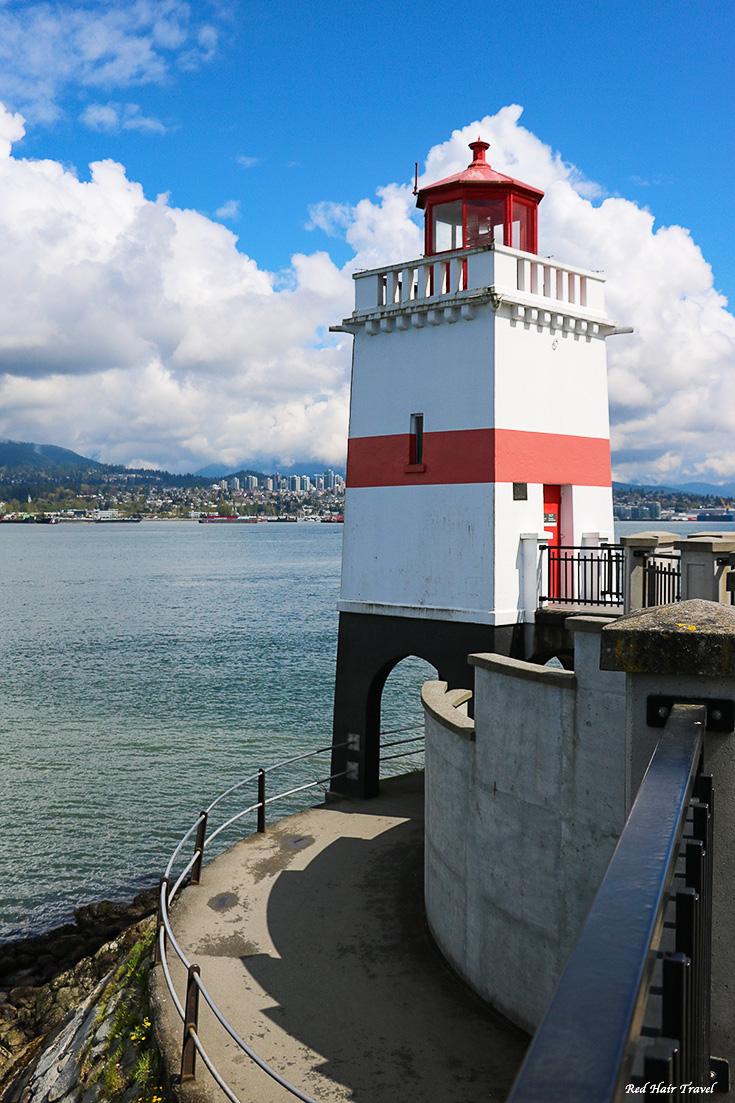 дамба, Ванкувер, маяк, Стенли Парк