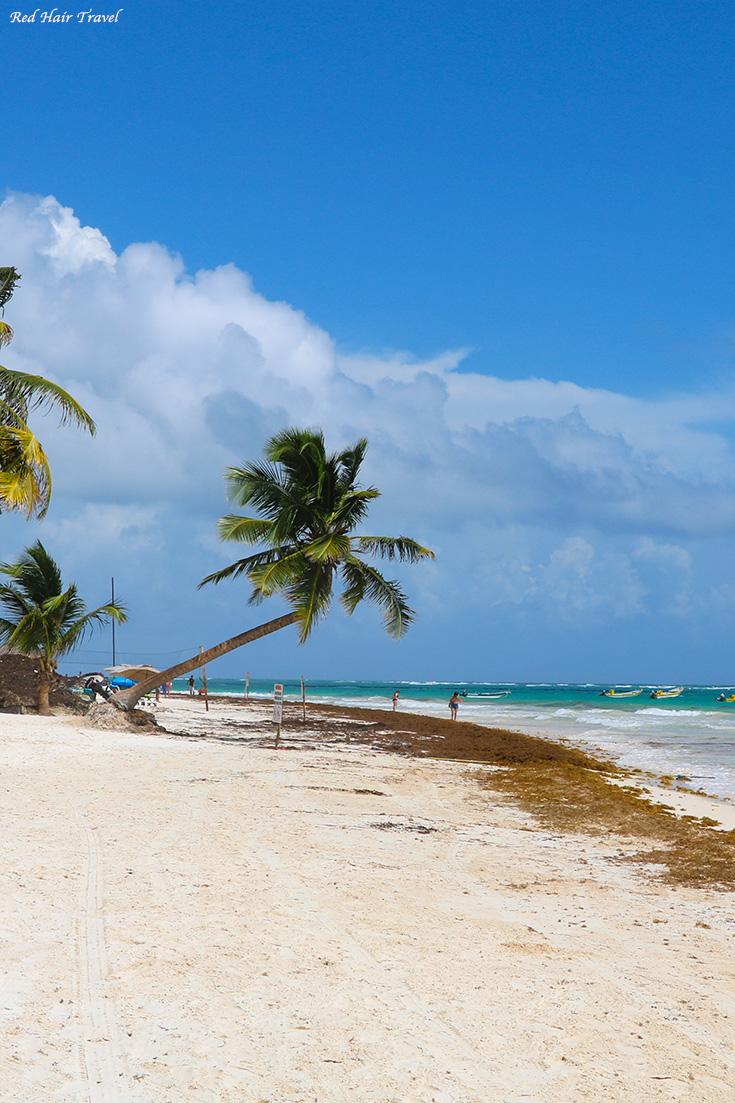 Тулум, райский пляж, Мексика