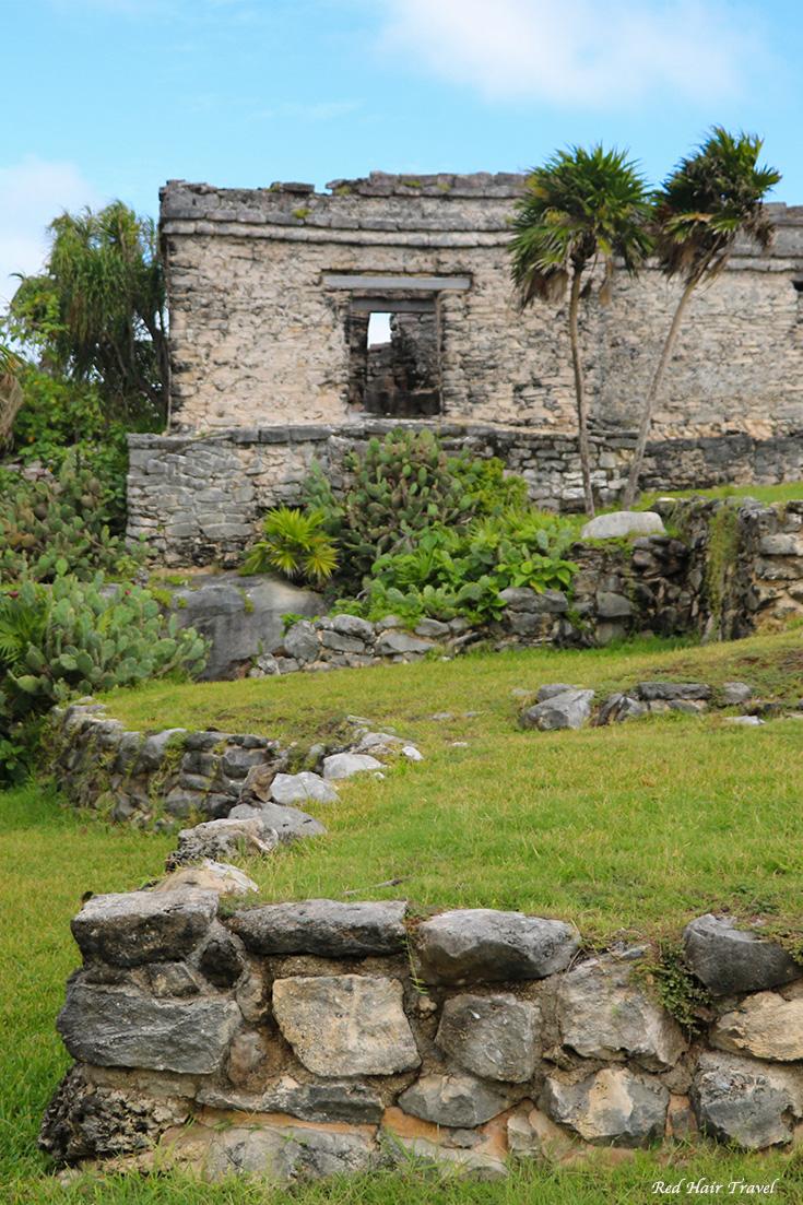 Руины Майя в Тулуме, Мексика