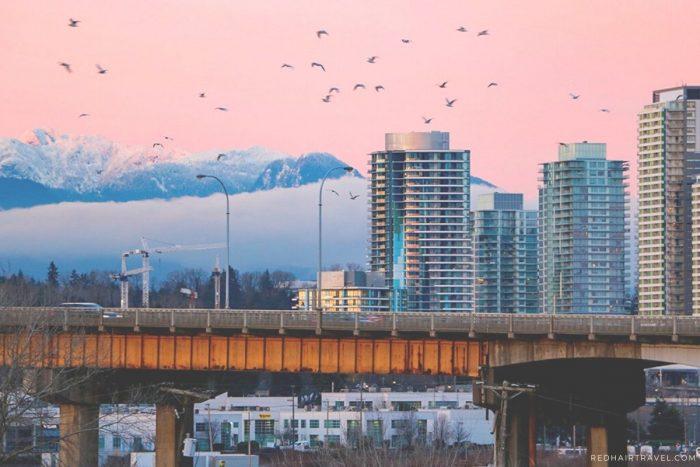 Как сэкономить в Ванкувере, Вид на Ванкувер