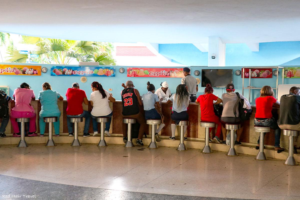 Cappelia мороженое, Гавана