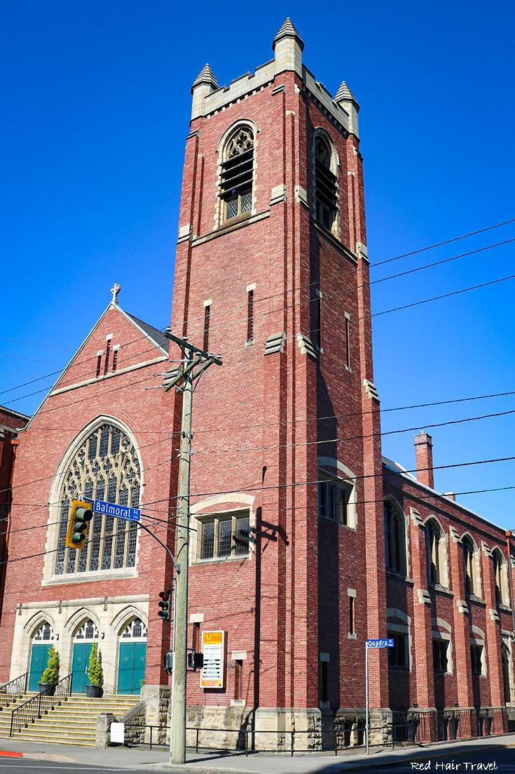 церковь, Виктория, Канада