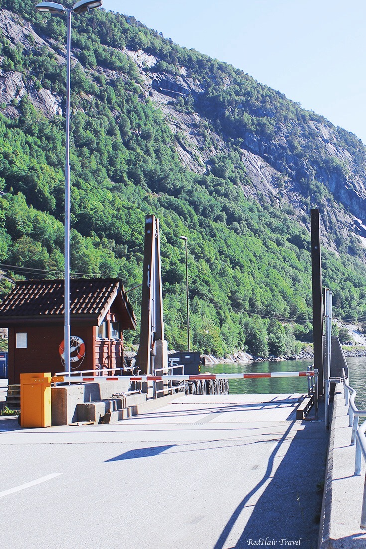 паром Норвегия
