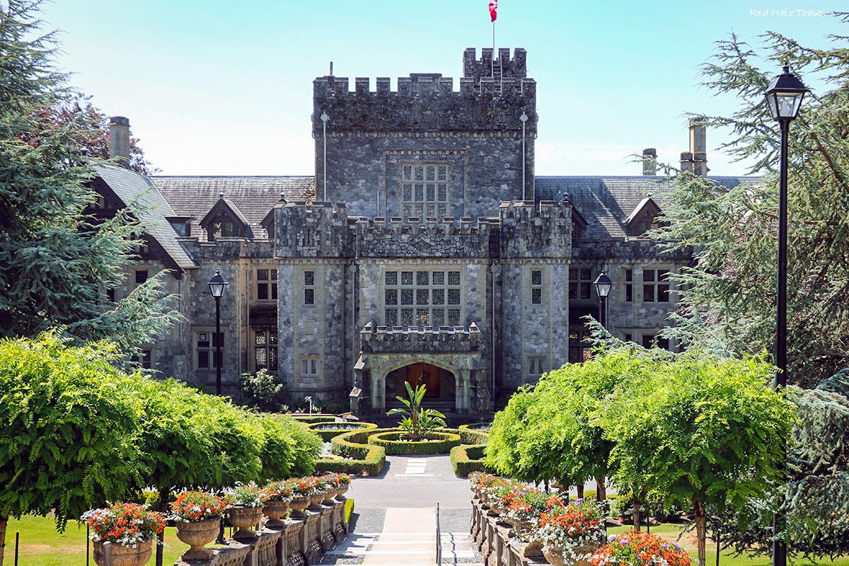 Замок Хатли (Hatley Castle)